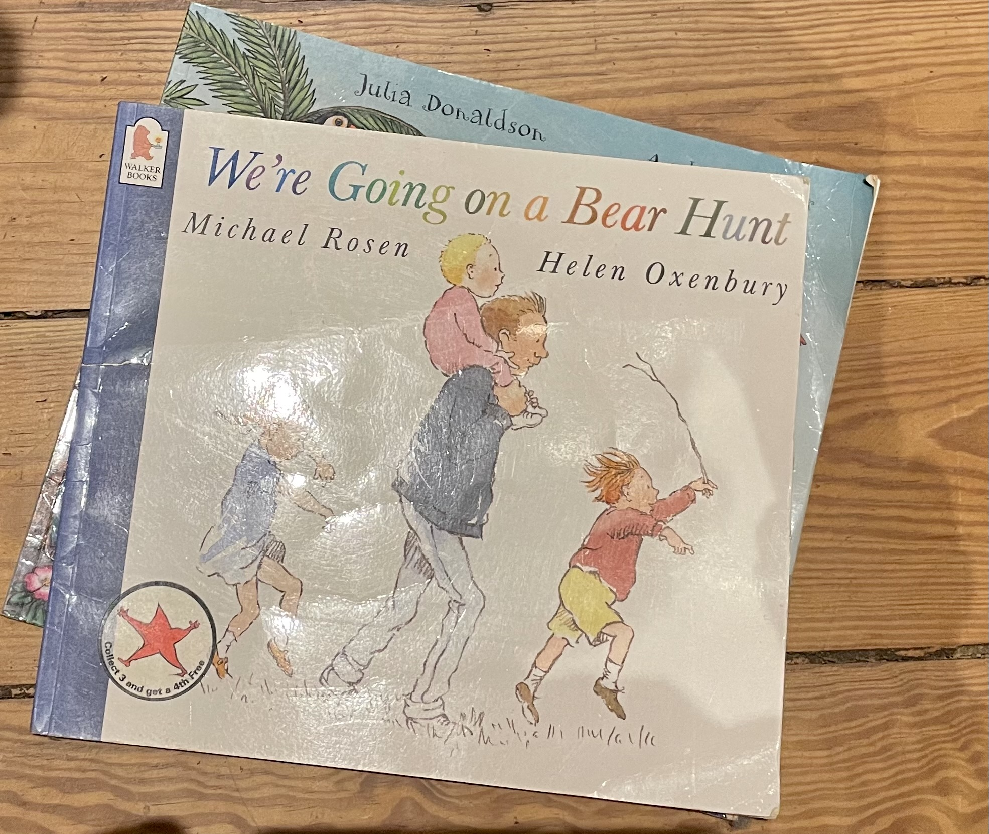 going on a bear bunt book photo