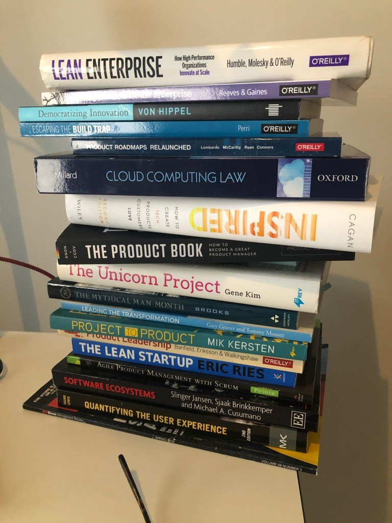 Product management books.
